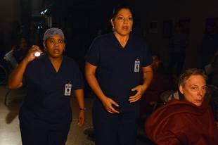 Grey's Anatomy Season 9 Finale Preview: Does the MerDer Baby Die? (VIDEO)