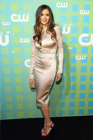Ian Somerhalder and Nina Dobrev, The Originals Cast Attend CW Upfront