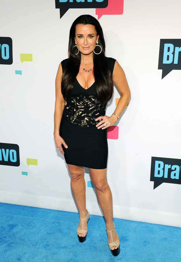 """Kyle Richards """"Inspired"""" by Angelina Jolie to Get Tested for Cancer Gene"""