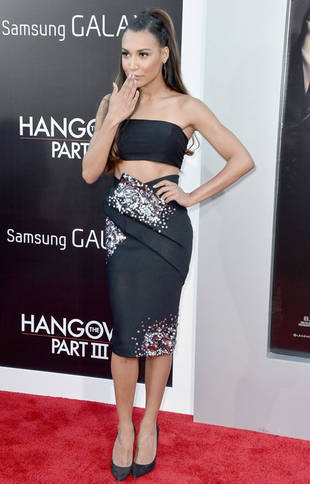 Naya Rivera's Risky Bare Midriff at Hangover 3 Premiere: Hot or Not?