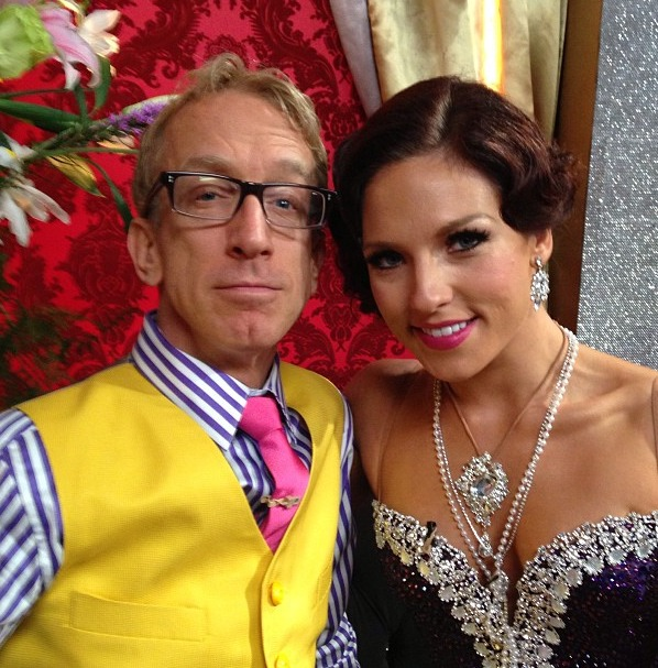 Dancing With the Stars Pair Andy Dick and Sharna Burgess Still Super Close