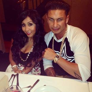 Snooki Enjoys Date Night With Pauly D — Cute Pic!