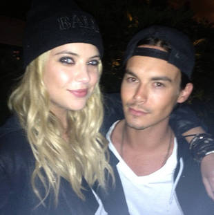 "Tyler Blackburn Calls Ashley Benson His ""Lover"""