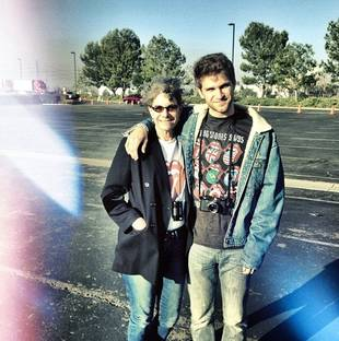 Pretty Little Liars Star Keegan Allen Rocks Out at Rolling Stones Concert With WHO?! (PHOTO)