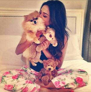 Shay Mitchell Cuddles With WHO?! You May Be Surprised (PHOTO)