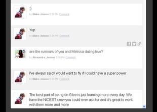 Glee Stars Blake Jenner and Melissa Benoist Dating in Real Life?