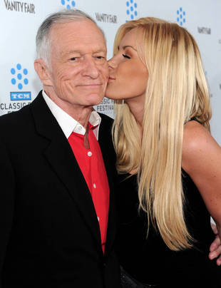 Hugh Hefner Buys $5 Million Mansion For Wife, Crystal Harris