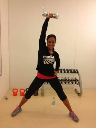 Second-Time Mom Laila Ali Shows Off Post-Baby Bikini Body