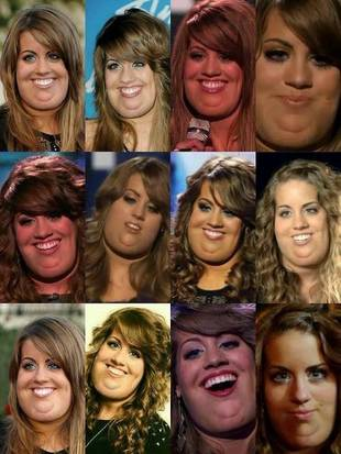 Angie Miller Tweets Fan-Made Collage of What She Would Look Like Obese