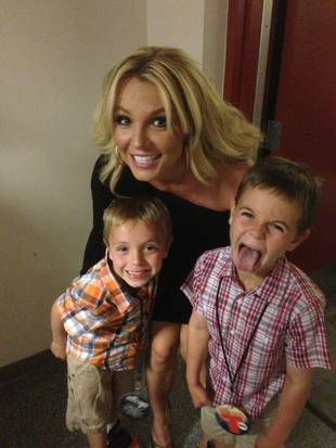 Britney Spears Wants Her Sons To Be Famous!