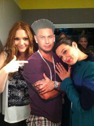 "Pauly D ""Cozied Up"" to Which Two Sexy ABC Stars?! (PHOTO)"