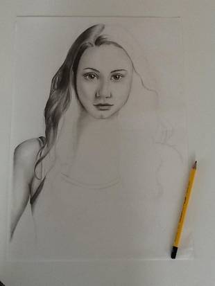 Pretty Little Liars Star Troian Bellisario's Incredible Fan Art: Check Out This Sketch! (PHOTO)