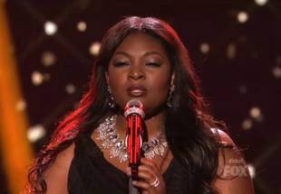 American Idol's Candice Glover on Her Emotional Moment With Nicki Minaj — Interview