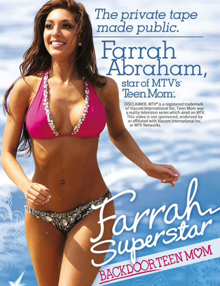 Farrah Abraham's Used Sex Tape Bikini Going For $500 on eBay