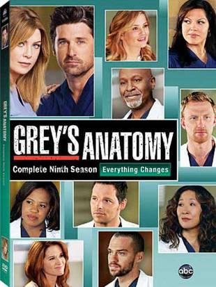 Grey's Anatomy Season 9 on DVD: Release Date Revealed!