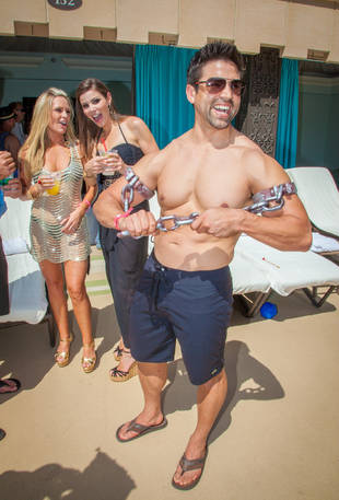 Tamra Barney and Fiance Eddie Judge Pre-Wedding Poolside Party! (PHOTOS)