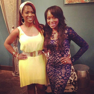 Kandi Burruss Parties With Quad From Married to Medicine (PHOTO)