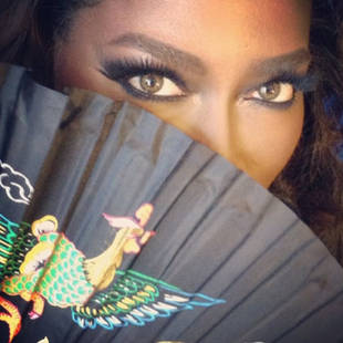 Kenya Moore Talks About Working With Whitney Houston