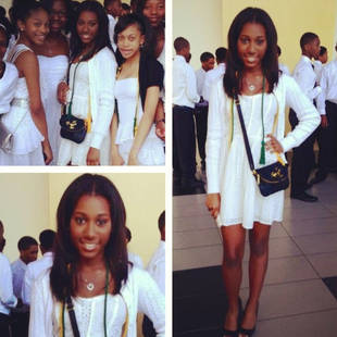 Noelle Robinson Graduates Middle School With Honors, Bound For Pricey Private School (PHOTO)