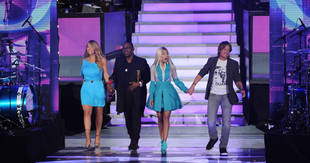 Nicki Minaj and Mariah Carey Fight Over Angie Miller on American Idol 2013