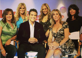 Throwback Thursday: Very First Real Housewives of OC Reunion! (PHOTO)