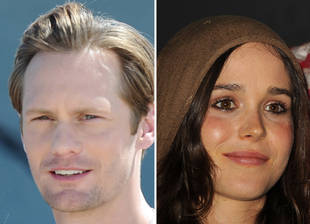 True Blood Star Alexander Skarsgard Dating Ellen Page — Photo Proof?