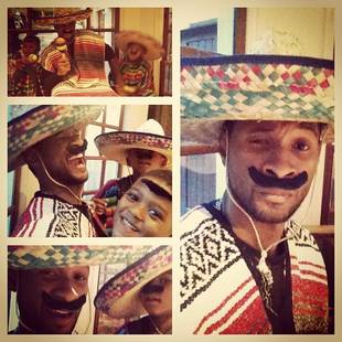 Usher Dresses His Kids in Ethnic Costumes: Educational or Offensive? (PHOTO)