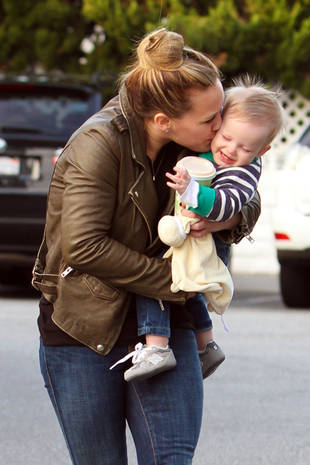"Hilary Duff: Motherhood is a ""Hormonal Roller Coaster"""