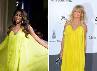 Kenya Moore vs. Goldie Hawn: Who Wore it Best?