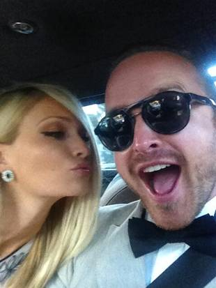 Check Out Aaron Paul's Beautiful Wedding Photos
