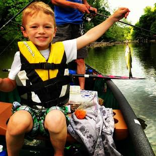 Maci Bookout's Son Bentley Catches a Fish! (PHOTO)