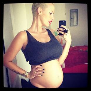 Amber Rose Weighed HOW MUCH While Pregnant?