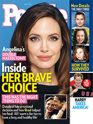 Angelina Jolie's Mastectomy, Nina and Ian Break Up: The Week In Review, 5/17