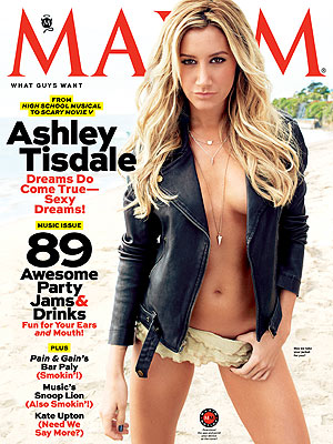 "High School Musical's Ashley Tisdale Is ""Freaked Out"" to Make Maxim's Hot 100 List"