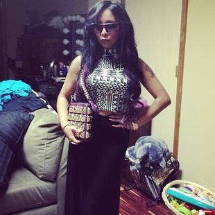 """Snooki's Crazy """"Boss"""" Lady Outfit — Love It or Leave It? (PHOTO)"""