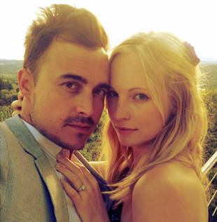 Vampire Diaries' Candice Accola Engaged to Fray Guitarist Joe King!
