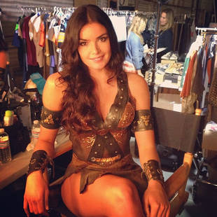 Courtney Robertson Dresses Up As a Hot Warrior Princess (PIC)