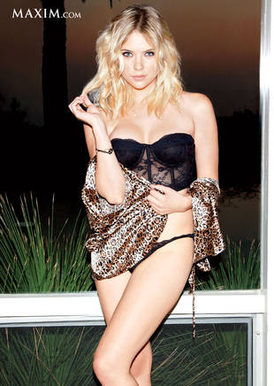 ashley benson makes maxim s hot 100 where does the pretty little