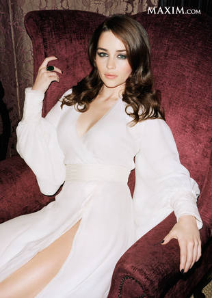 Game of Thrones Star Emilia Clarke Makes Maxim's Hot 100! Where Does Khaleesi Rank?