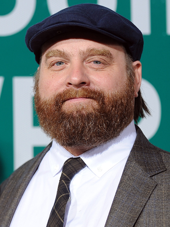 Zach Galifianakis Got Apartment For 87-Year-Old Homeless Friend, Takes Her to Premieres