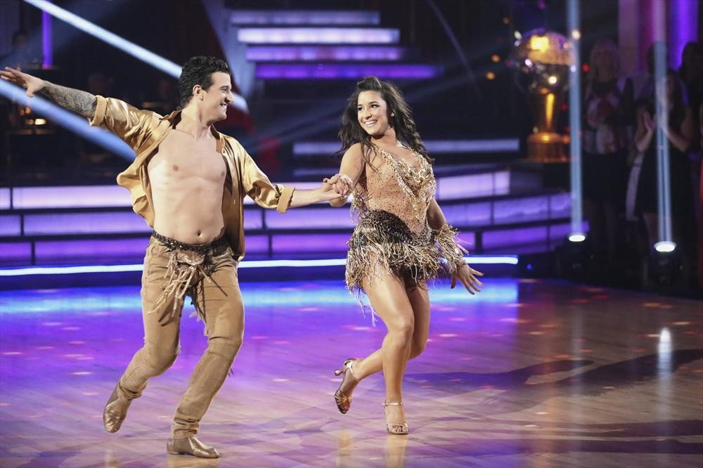 DWTS Results: Aly Raisman Voted Off Dancing With the Stars 2013