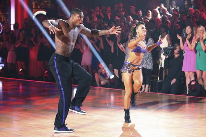 DWTS Results: Jacoby Jones Voted Off Dancing With the Stars 2013