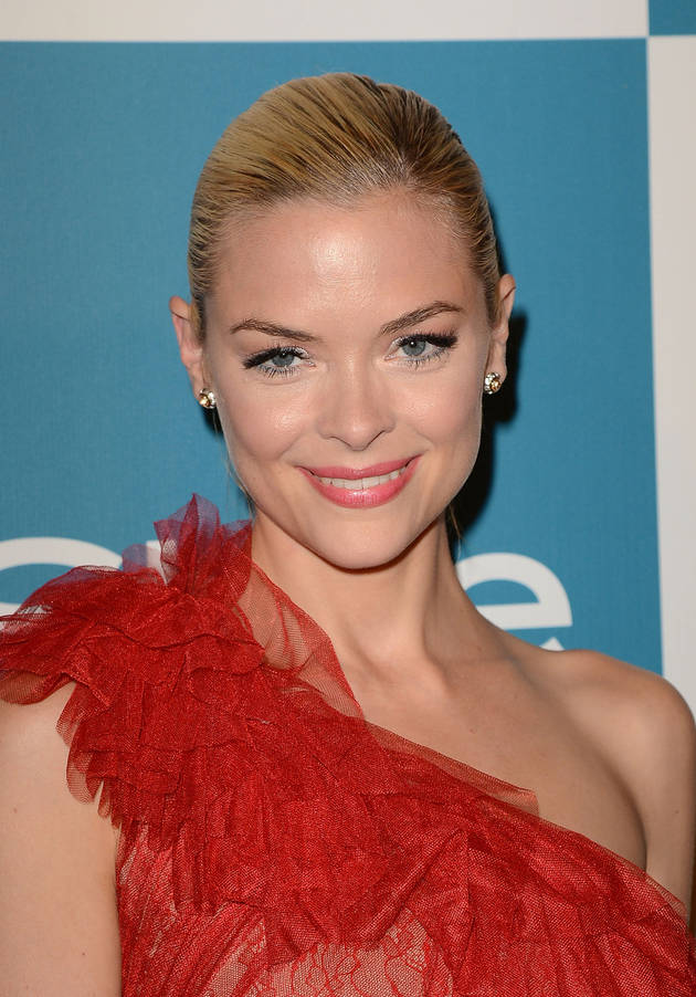Pregnant Jaime King Shows Off Baby Bump in Colorful Dress (PHOTO)
