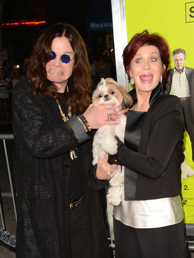 Sharon and Ozzy Osbourne Reunite on Red Carpet (Pics)