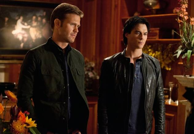 Vampire Diaries' Alaric Tweets to His Bestie Damon