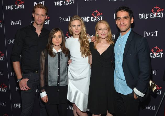 Alexander Skarsgard and Co-Stars Party in New York City After The East Premiere