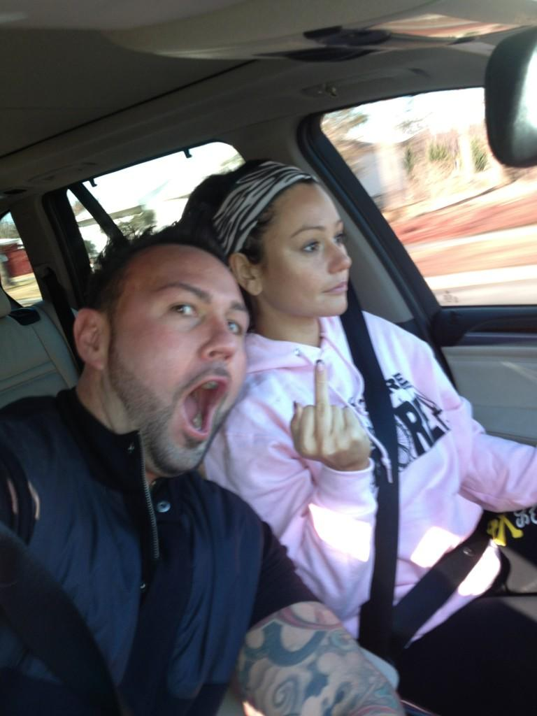 JWOWW and Roger Did WHAT Together in the Car? (PHOTO)