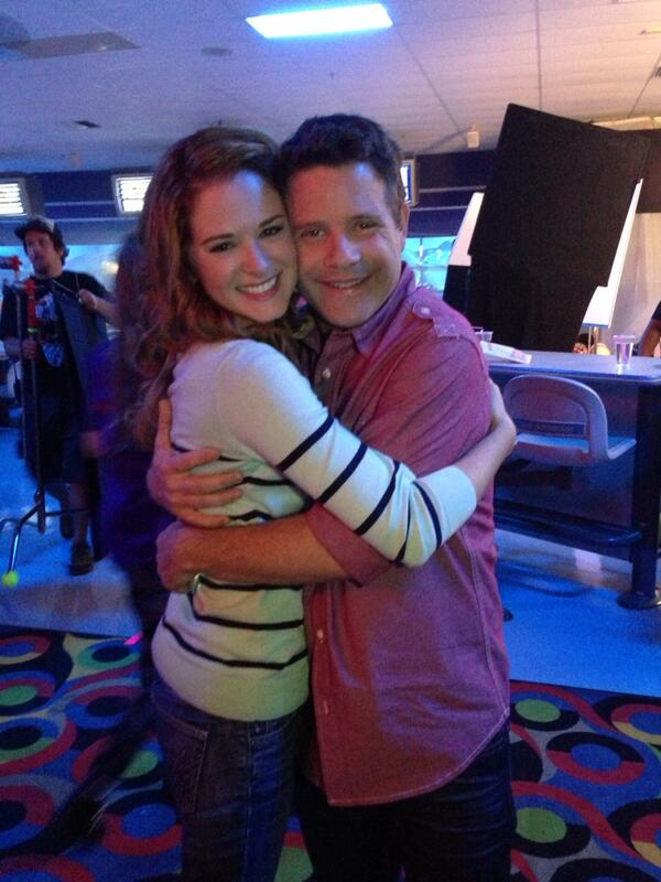 Grey's Anatomy's Sarah Drew Is Starring in Mom's Night Out With Sean Astin (PHOTOS)
