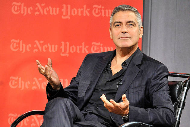 George Clooney Caught Holding Hands with Ex, Cheats on Stacy Keibler?
