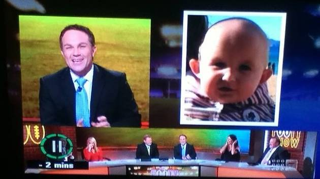 Footy Show TV Announcer Calls Baby Ugly on National TV, Parents Seek Legal Action